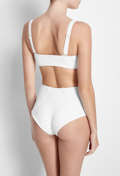 The High Waist Bottoms | White