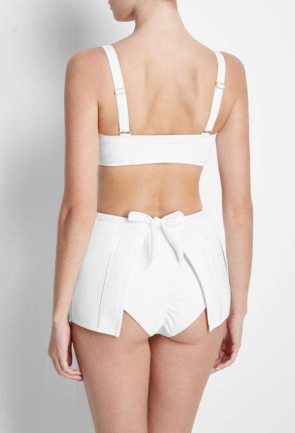 The Peplum Skirt | White