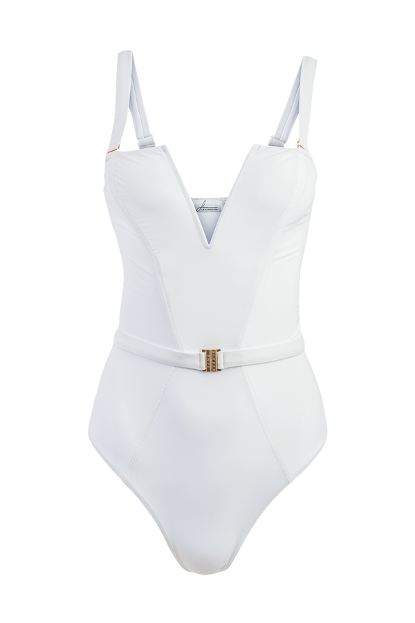 The Victory Swimsuit | White