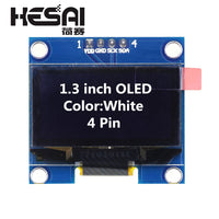 1.3 Inch OLED Module White Color 128X64 OLED LCD LED Display Module 1.3 IIC I2C SPI Communicate for arduino Diy Kit