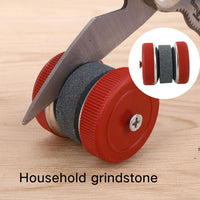 Kitchen Tools Grindstone Kitchen Knife Sharpener Round Shape Household Grinding Stones Home Good Assistant Sharpeners