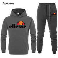 2019 Spring Sporting Suits Men Ellesse Hip Hop Hooded Hoodies + Pants Tracksuits Autumn Casual Mens Sportswear Sets