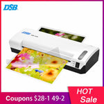 A4 Photo Laminator Hot Cold Laminator Fast Speed Film Laminating Plastificadora Machine Laminating W/ Free Paper Trimmer Cutter