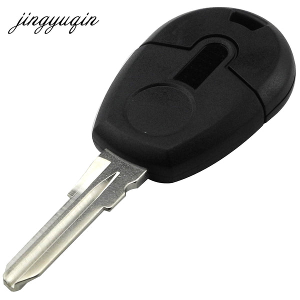 jingyuqin 15pcs/lot New style Replacement Car Key Blank Case For Fiat Positron EX300 Transponder Key Shell No Chip Fob