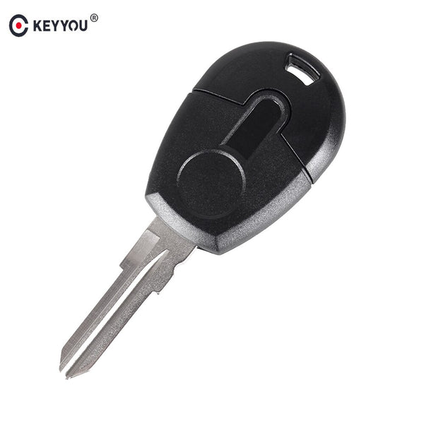 KEYYOU 15pcs/lot Replacement Remote Car Key Shell Case Cover For Fiat Transponder Key Shell Blank Case Cover GT15R blade