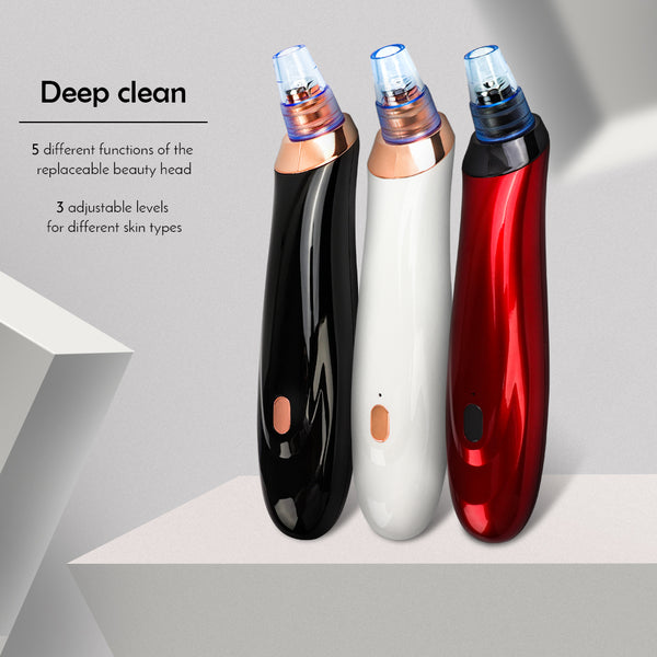 Face Acne Black Dot Pimple Blackhead Remover Electric Microcrystalline Blackhead Vacuum Cleaner Pore Blackhead Skin Care Machine