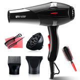 Professional 3200W Strong Power Hair Dryer for Hairdressing Barber Salon Tools Blow Dryer Low Hairdryer Hair Dryer Fan 220-240V