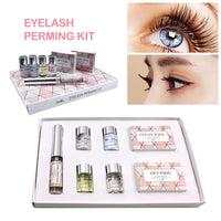 Funmix Eye Lashes Cilia Lifting Extension Perm Set Mini Eyelash Perming Kit with Rods Glue Makeup Tools TSLM2