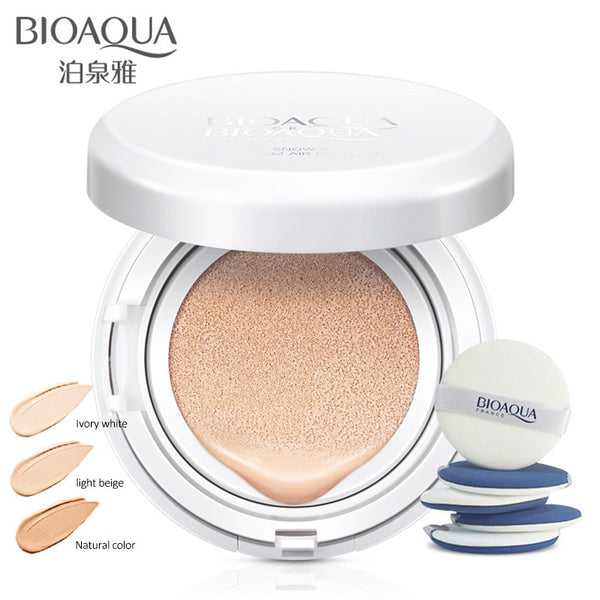 BIOAQUA Sunscreen Air Cushion BB CC Cream Concealer Moisturizing Foundation Makeup Bare Whitening Face Cream Korean Cosmetics