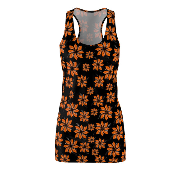 Women's Racerback Dress Flower Field