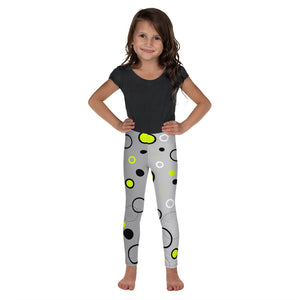 Kid's Leggings Bubble Yellow