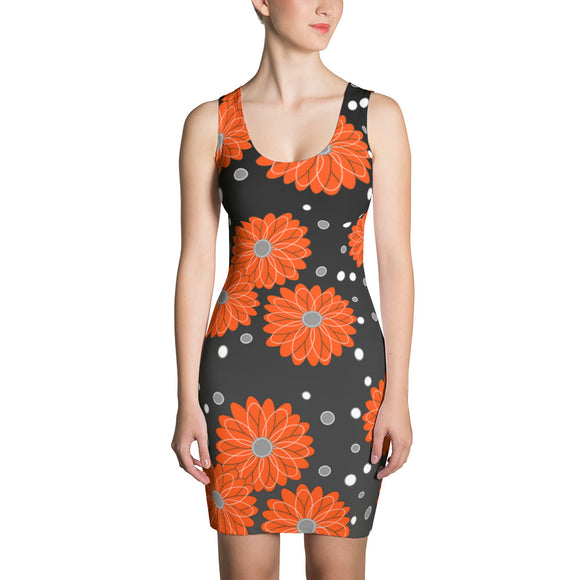 Dress Orange Flower