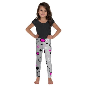 Kid's Leggings Bubble Pink