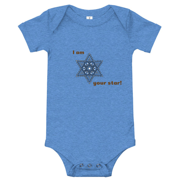 Baby Bodysuit I am your star
