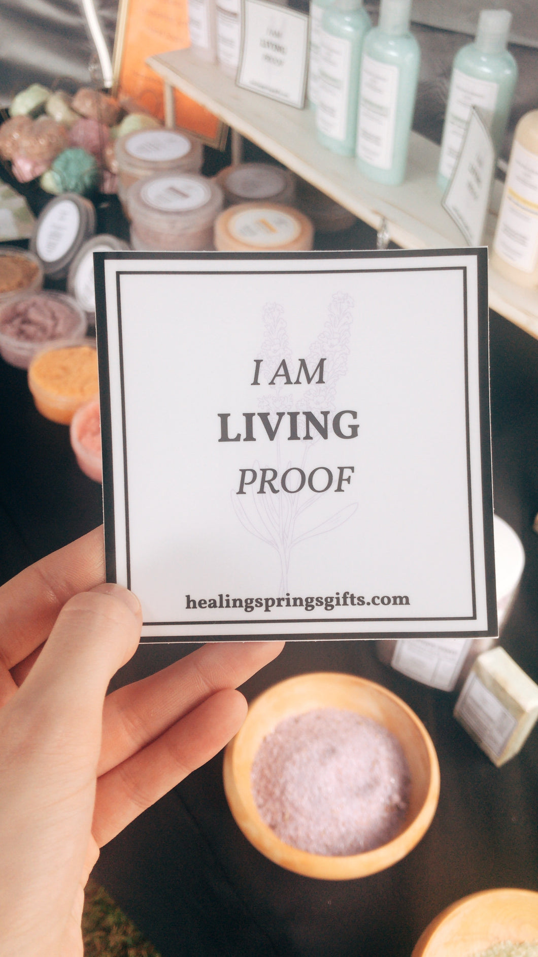 Sticker - Living Proof