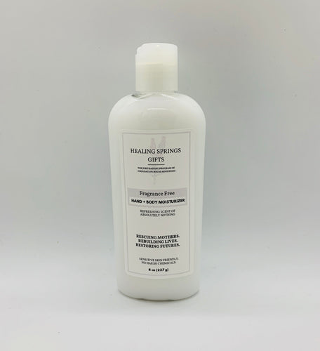 Hand + Body Lotion - Fragrance-Free