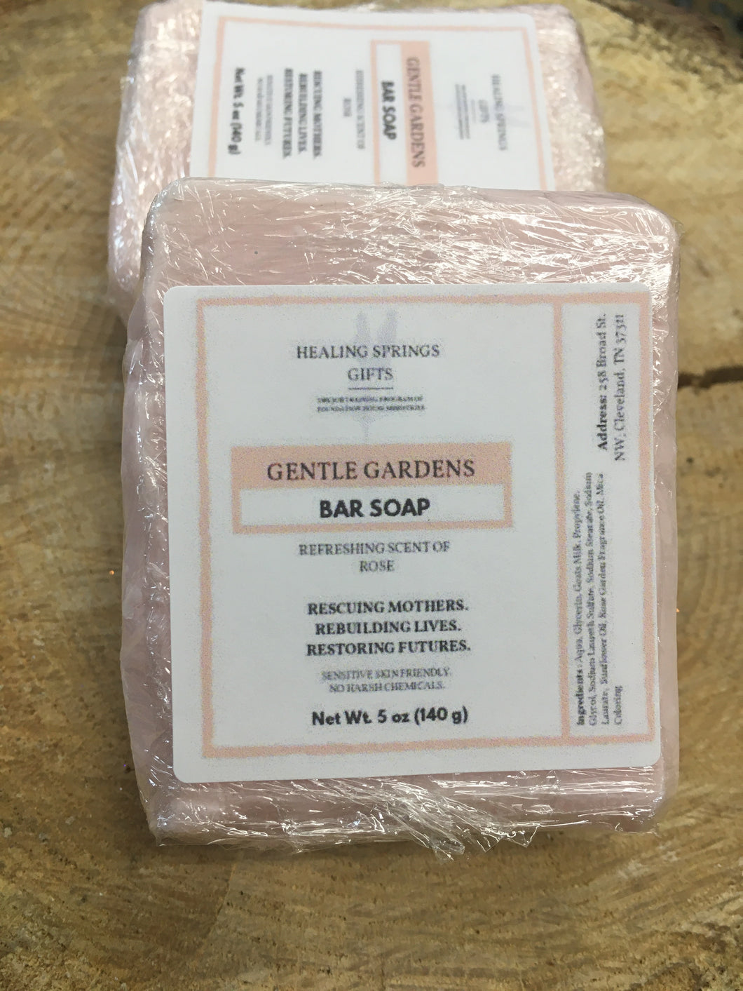 Goat Milk Soap - Gentle Gardens