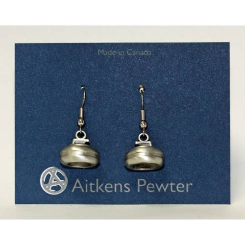 Aitken's Pewter Earrings