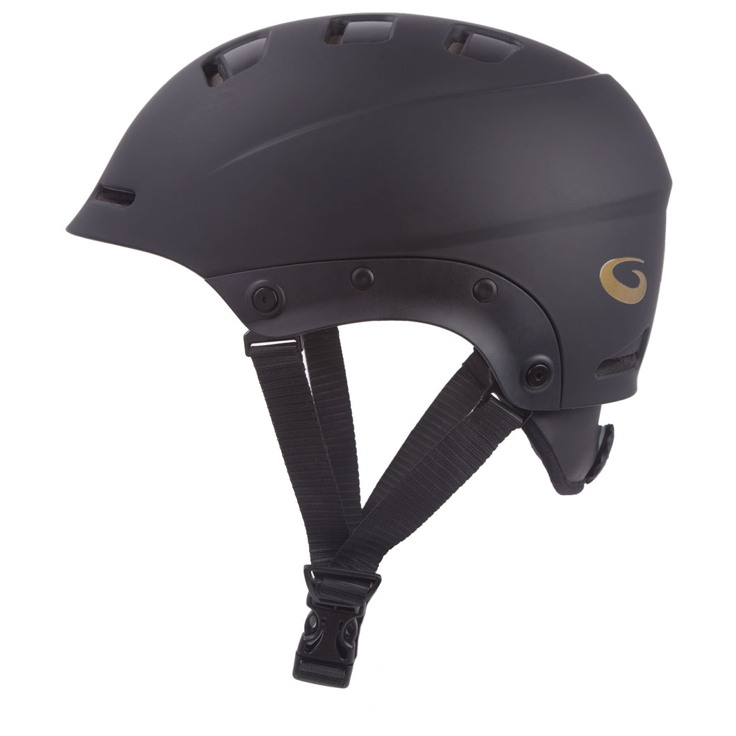 Goldline Helmet Side View