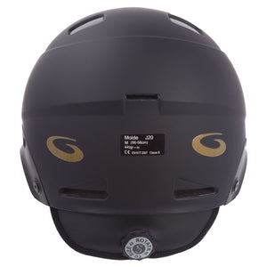 Goldline Helmet Back View