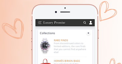 Luxury Promise is the first to introduce artificial intelligence in to the luxury industry.