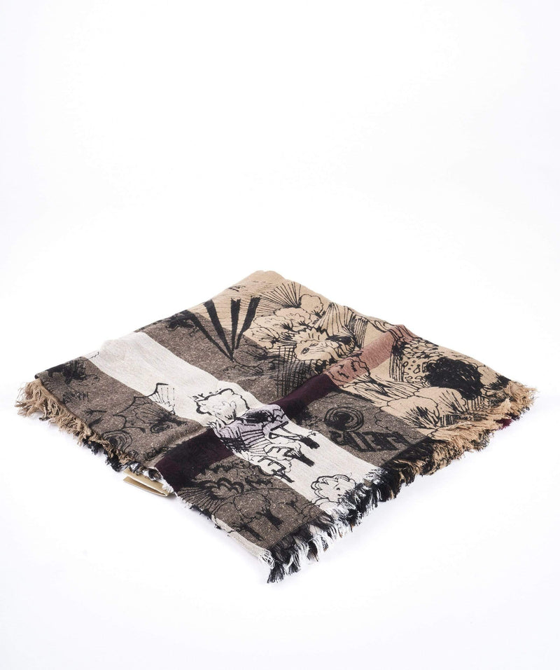Burberry Burberry scribble wool scarf