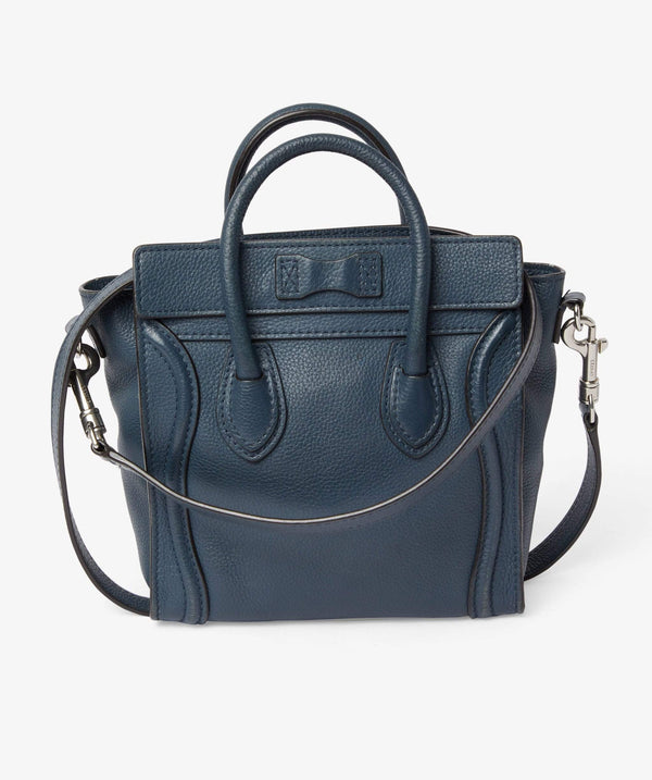 Celine Celine Bag Nano Navy Luggage