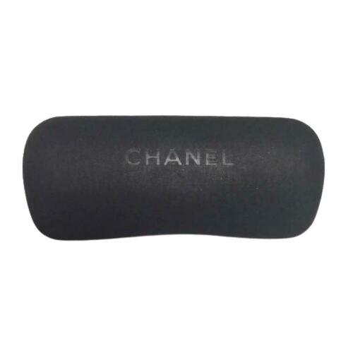 Chanel Chanel Black Sunglasses with Silver Plated Hardware