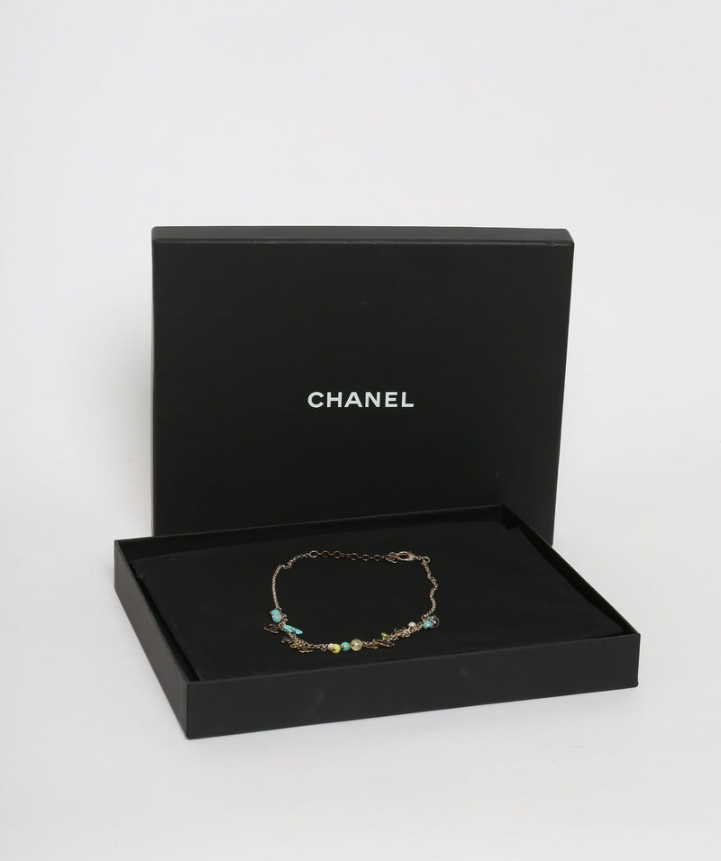 Chanel Chanel CC Blue Necklace
