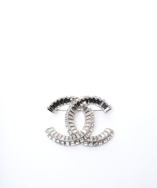 Chanel Chanel CC radiant crystal cut CC brooch