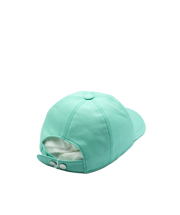 Chanel Chanel Green and Pink Cap