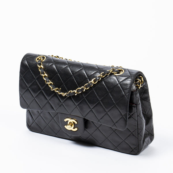 "Chanel Chanel 10"" Classic Flap Bag MW2381"