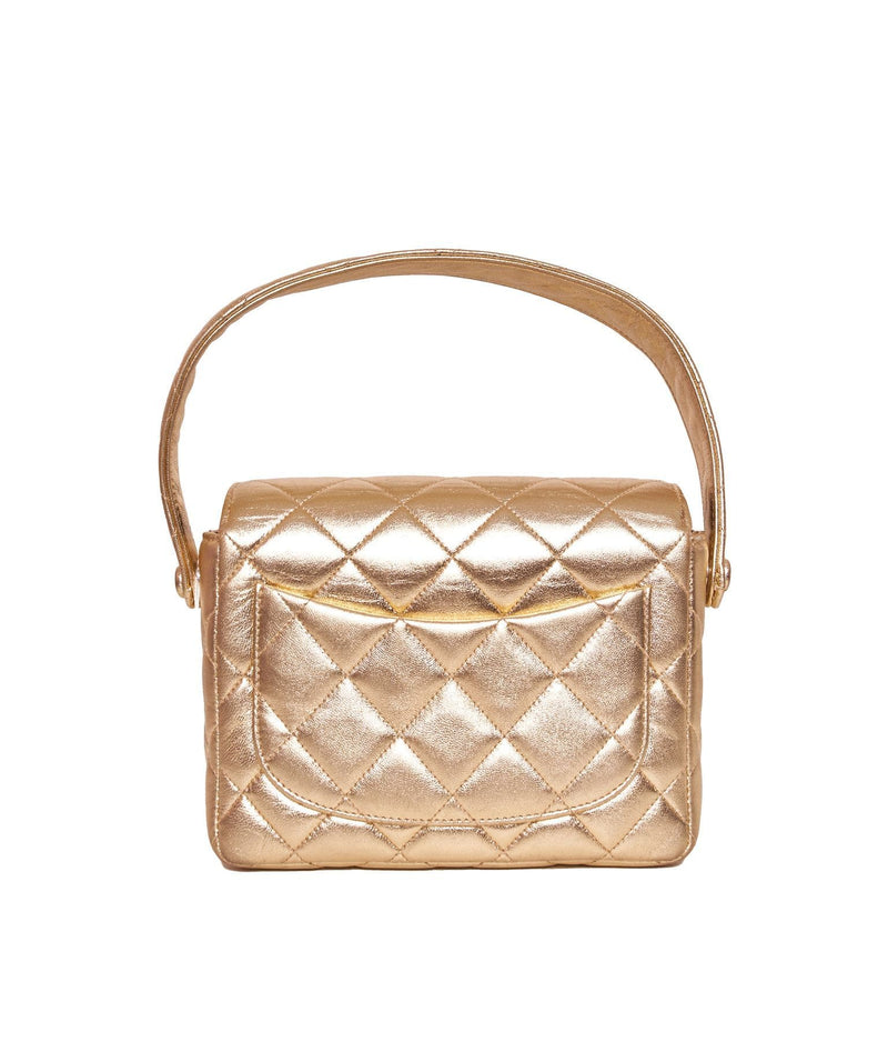 Chanel Chanel Gold Top Handle Bag