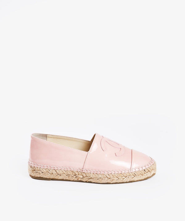Chanel Chanel Pink Espadrilles 36 Nude