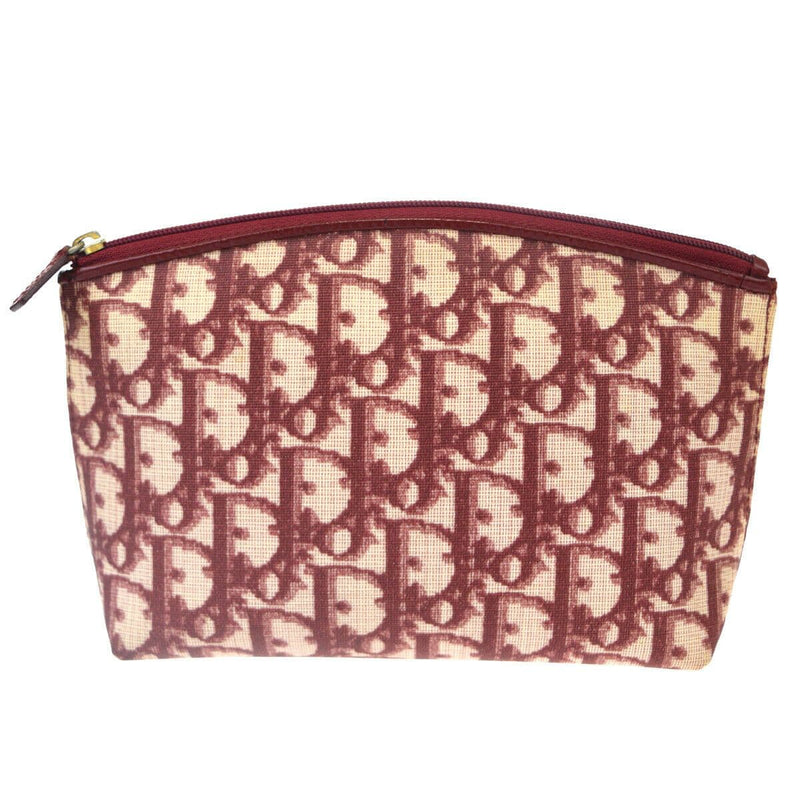 Christian Dior Christian Dior Trotter Pattern Pouch