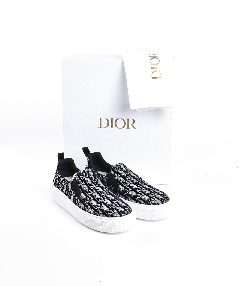 Christian Dior Dior Oblique slip-on sneakers size 39