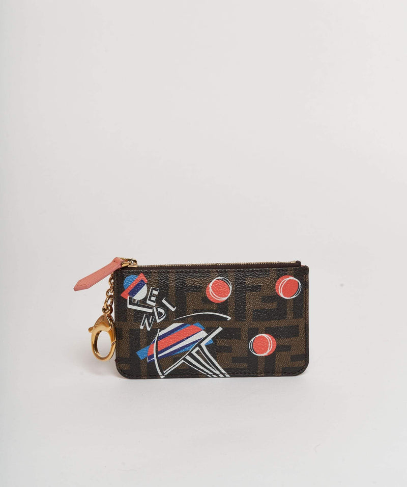 Fendi Fendi wallet with space ships