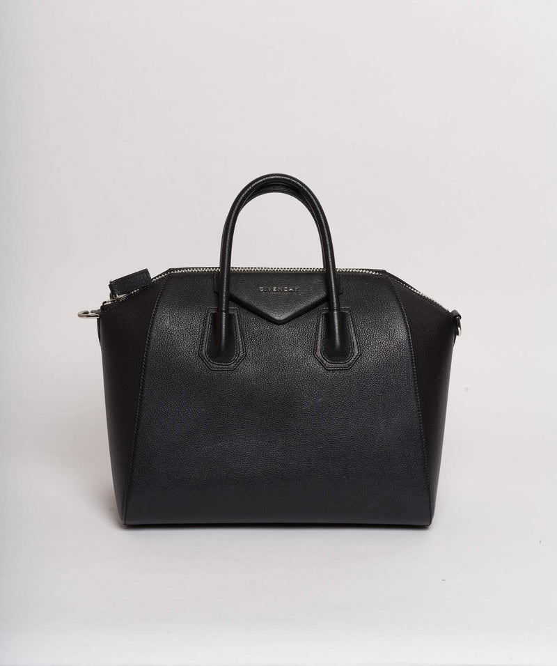 Givenchy Givenchy Antigona Black Top Handle Bag PHW