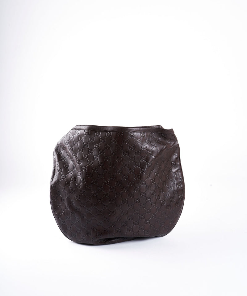 Gucci Gucci guccissima Hobo brown bag