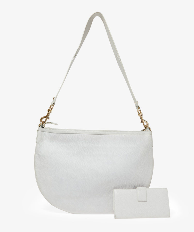 Gucci Gucci White Hobo bag and wallet