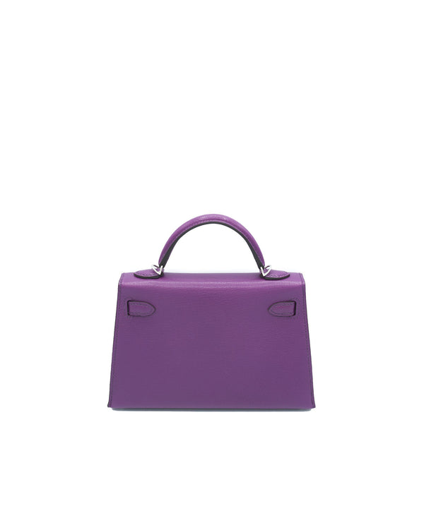 Hermès Hermes Kelly 20 Anemone Chevre with PHW
