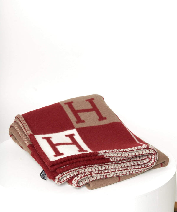 Hermès Hermes Avalon Red cashmere