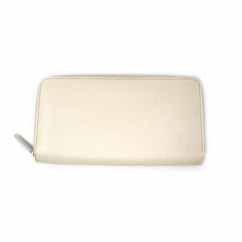 Louis Vuitton Louis Vuitton Zippy wallet Cream Epi Leather
