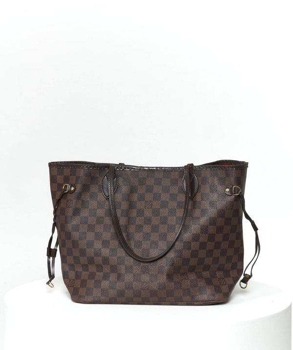 Louis Vuitton Louis Vuitton Damier Ebene Neverfull MM