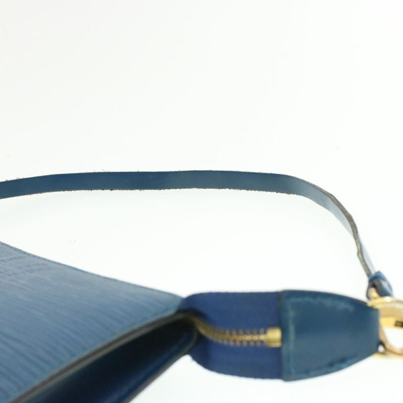 Louis Vuitton LOUIS VUITTON Epi Toledo Blue Pochette AR0954