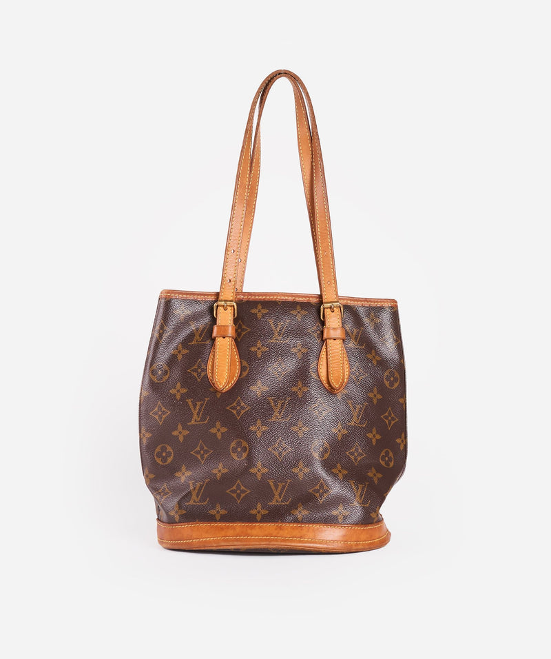 Louis Vuitton LOUIS VUITTON Monogram Bucket PM Shoulder Bag FL0054