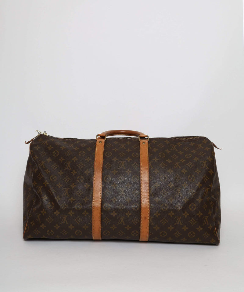 Louis Vuitton LOUIS VUITTON Monogram Keepall 55 Boston Bag SP0954