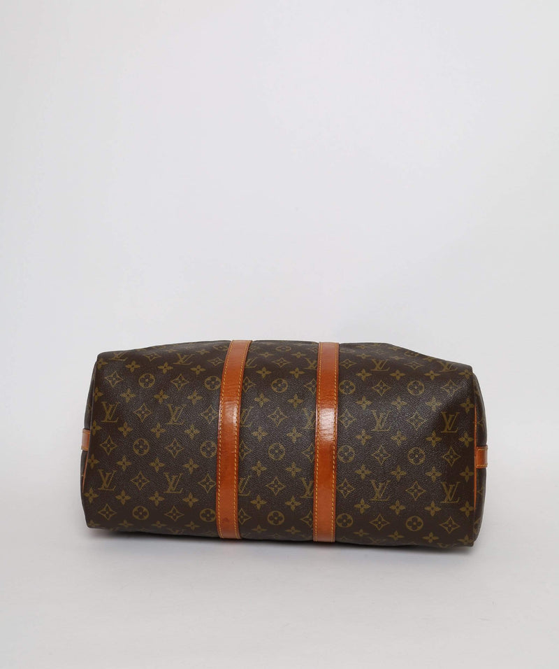 Louis Vuitton LOUIS VUITTON Monogram Keepall Bandouliere 45 Boston Bag 843