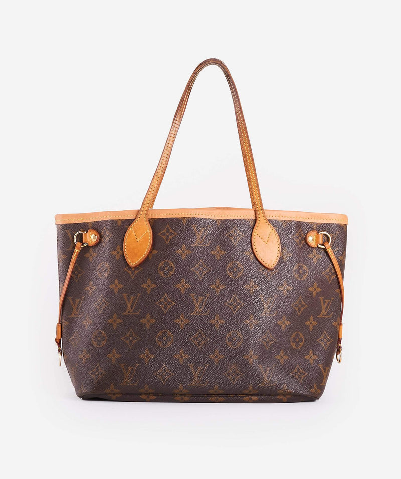 Louis Vuitton LOUIS VUITTON Monogram Neverfull PM Tote Bag AR0143X