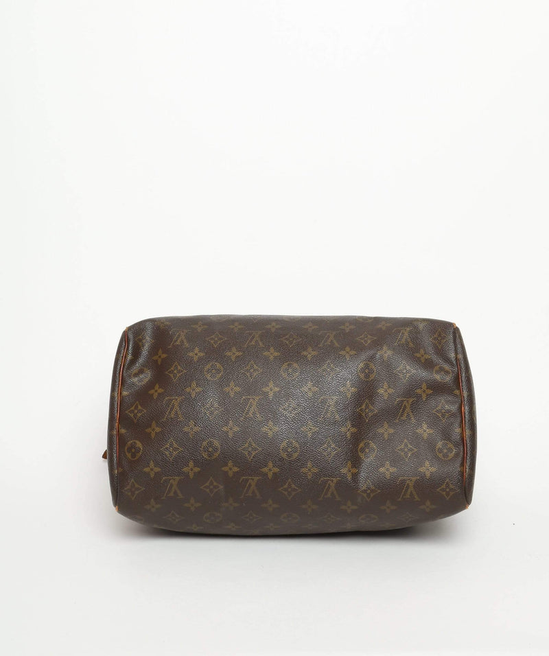 Louis Vuitton LOUIS VUITTON Monogram Speedy 35 Hand Bag SP0988